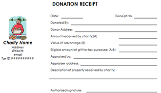 donation receipt letter for tax purposes deductible donation receipt template non profit donation 1351